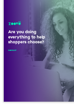 help shoppers choose