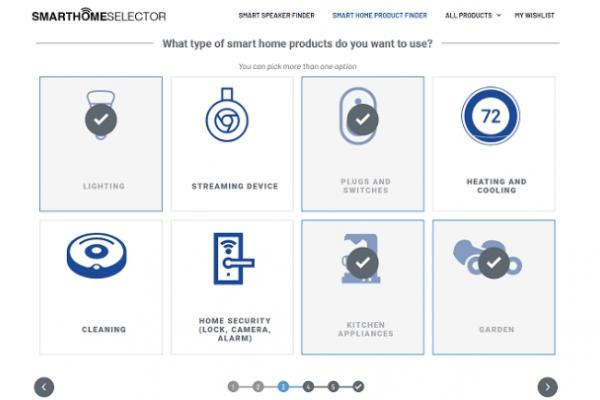 Smart Home Selector - Smart Home devices